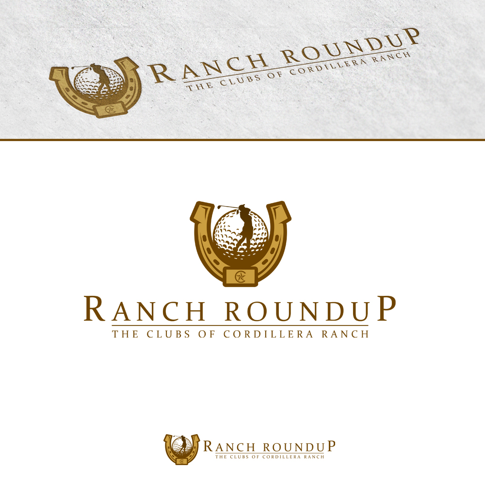 Logo Design by omARTist - Entry No. 18 in the Logo Design Contest Captivating Logo Design for Ranch Roundup.