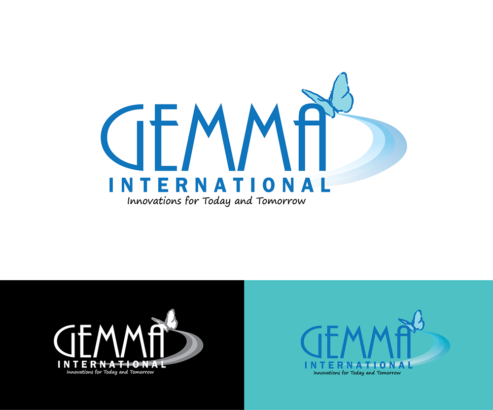 Logo Design by robken0174 - Entry No. 84 in the Logo Design Contest Artistic Logo Design for Gemma International.