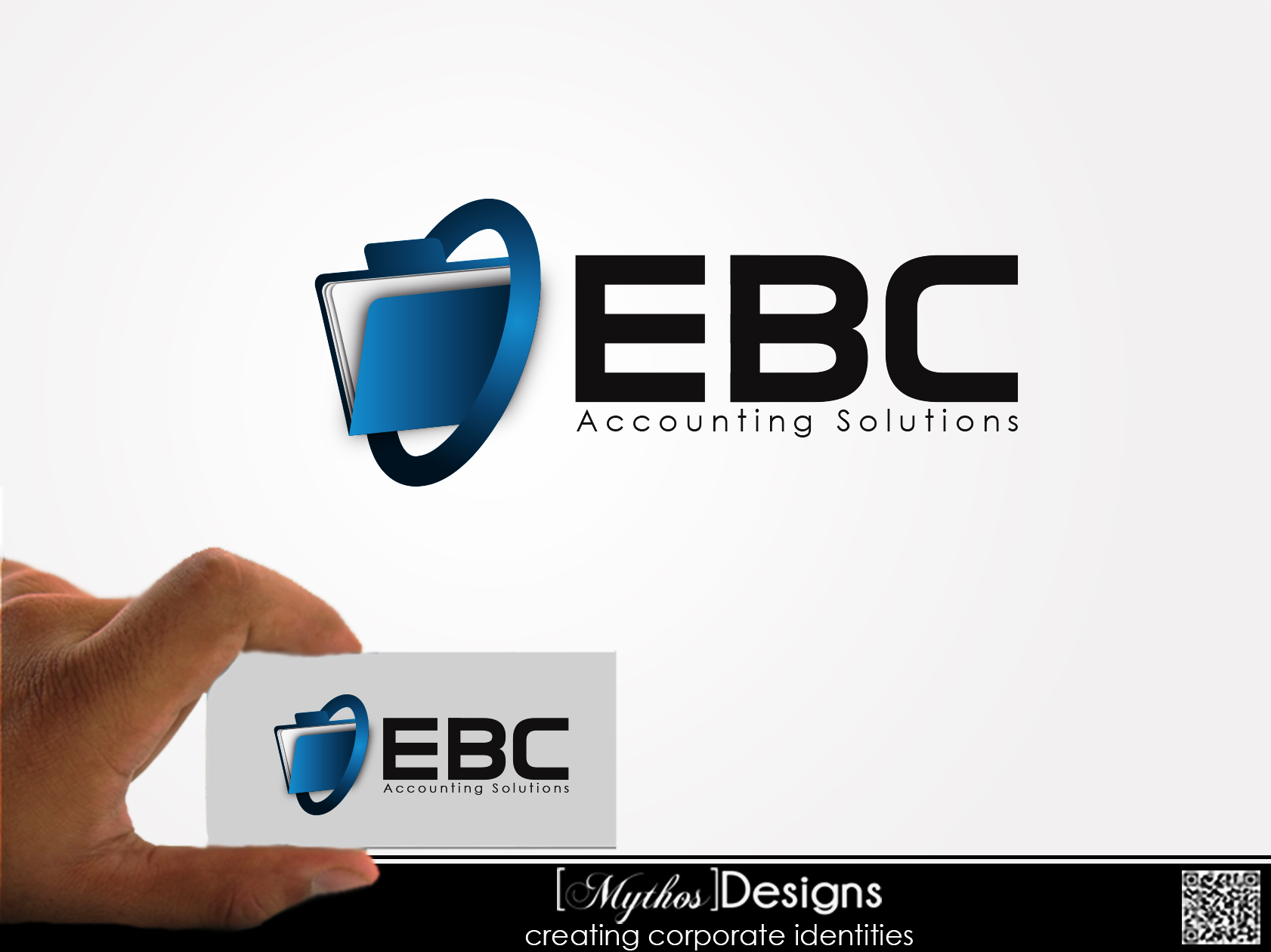 Logo Design by Mythos Designs - Entry No. 90 in the Logo Design Contest New Logo Design for EBC Accounting Solutions.