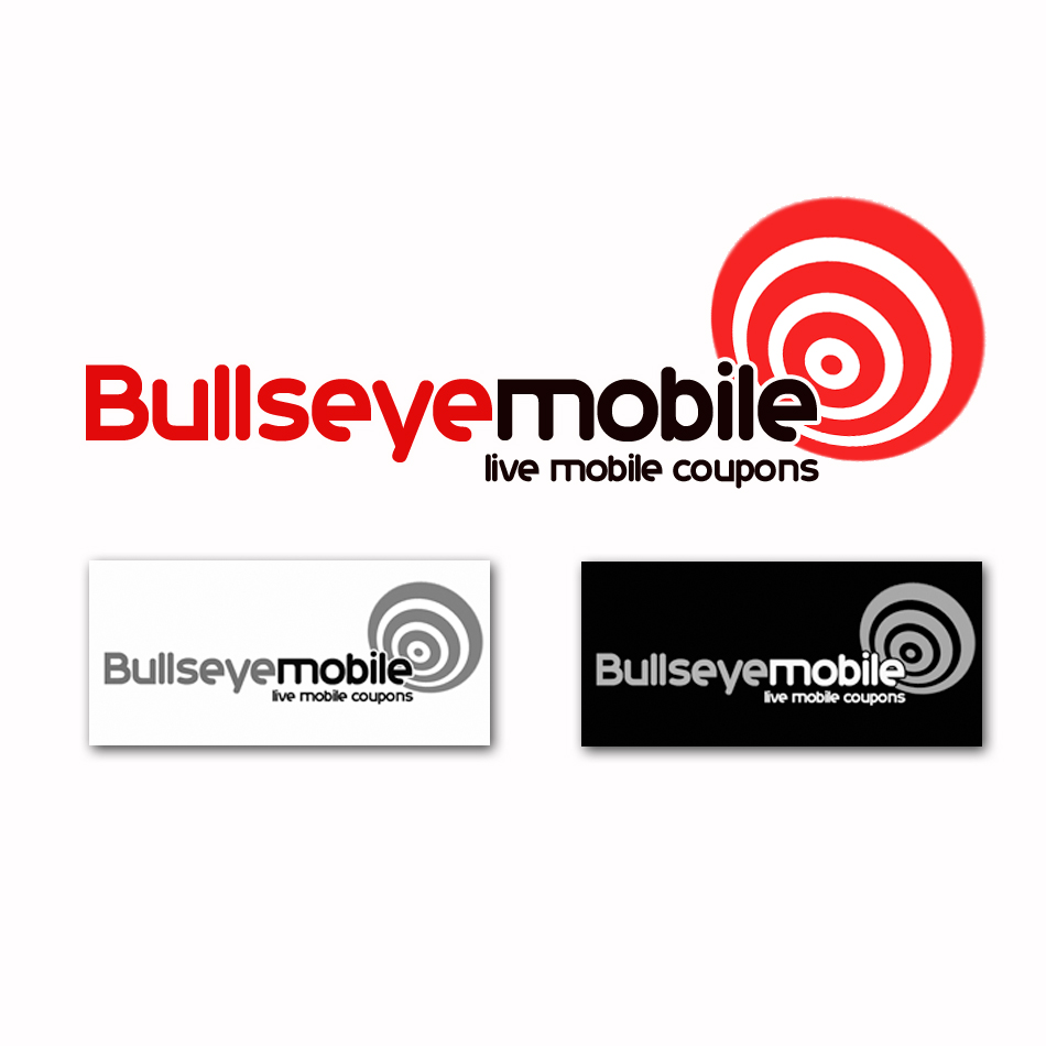 Logo Design by lapakera - Entry No. 84 in the Logo Design Contest Bullseye Mobile.