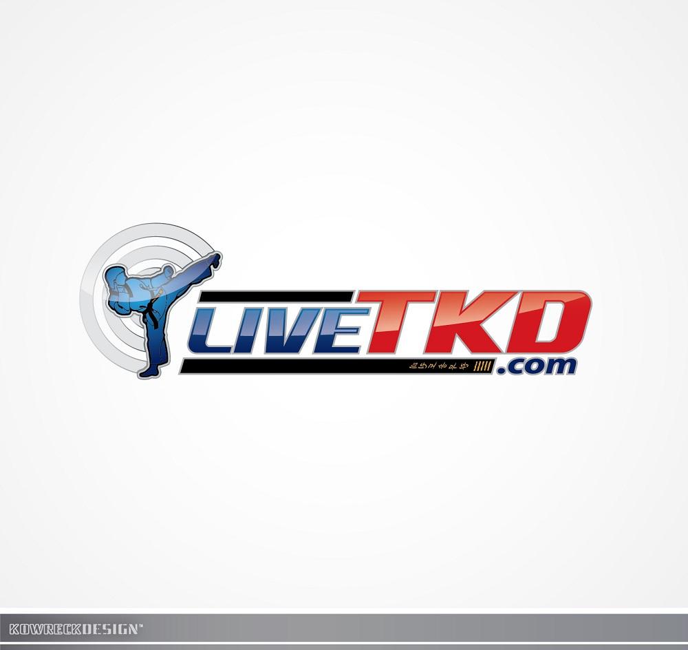Logo Design by kowreck - Entry No. 91 in the Logo Design Contest New Logo Design for LiveTKD.com.
