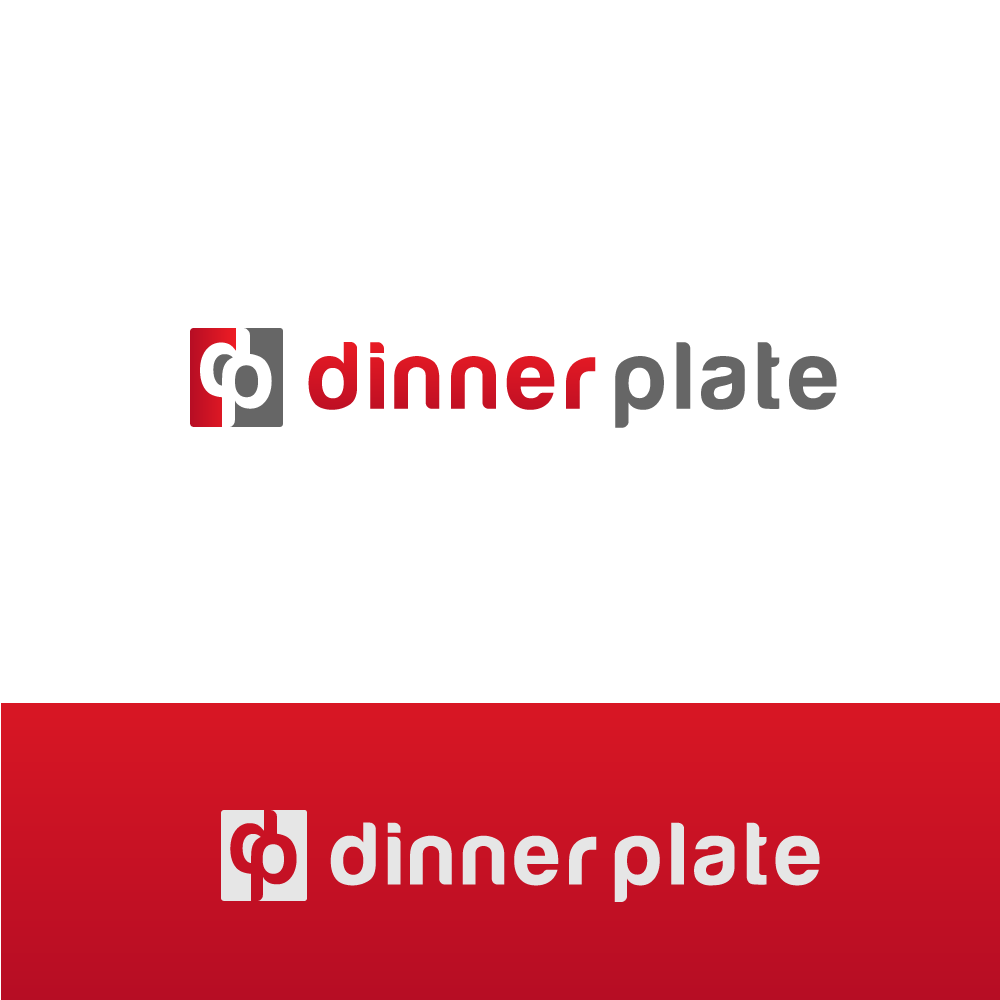 Logo Design by rockin - Entry No. 82 in the Logo Design Contest Imaginative Logo Design for Dinner Plate.