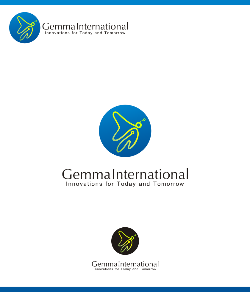 Logo Design by graphicleaf - Entry No. 87 in the Logo Design Contest Artistic Logo Design for Gemma International.