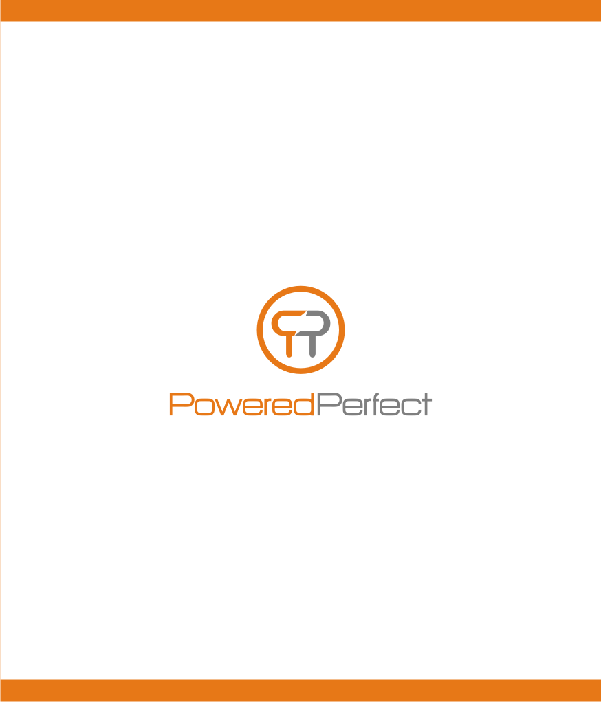Logo Design by graphicleaf - Entry No. 2 in the Logo Design Contest Captivating Logo Design for Powered Perfect.