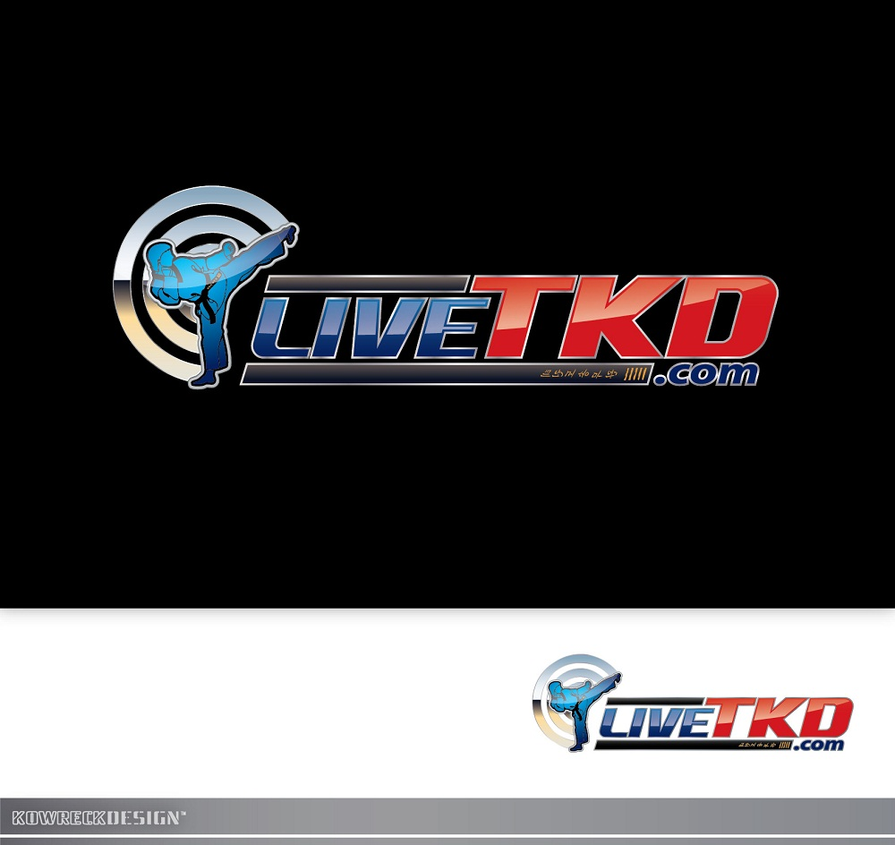 Logo Design by kowreck - Entry No. 97 in the Logo Design Contest New Logo Design for LiveTKD.com.