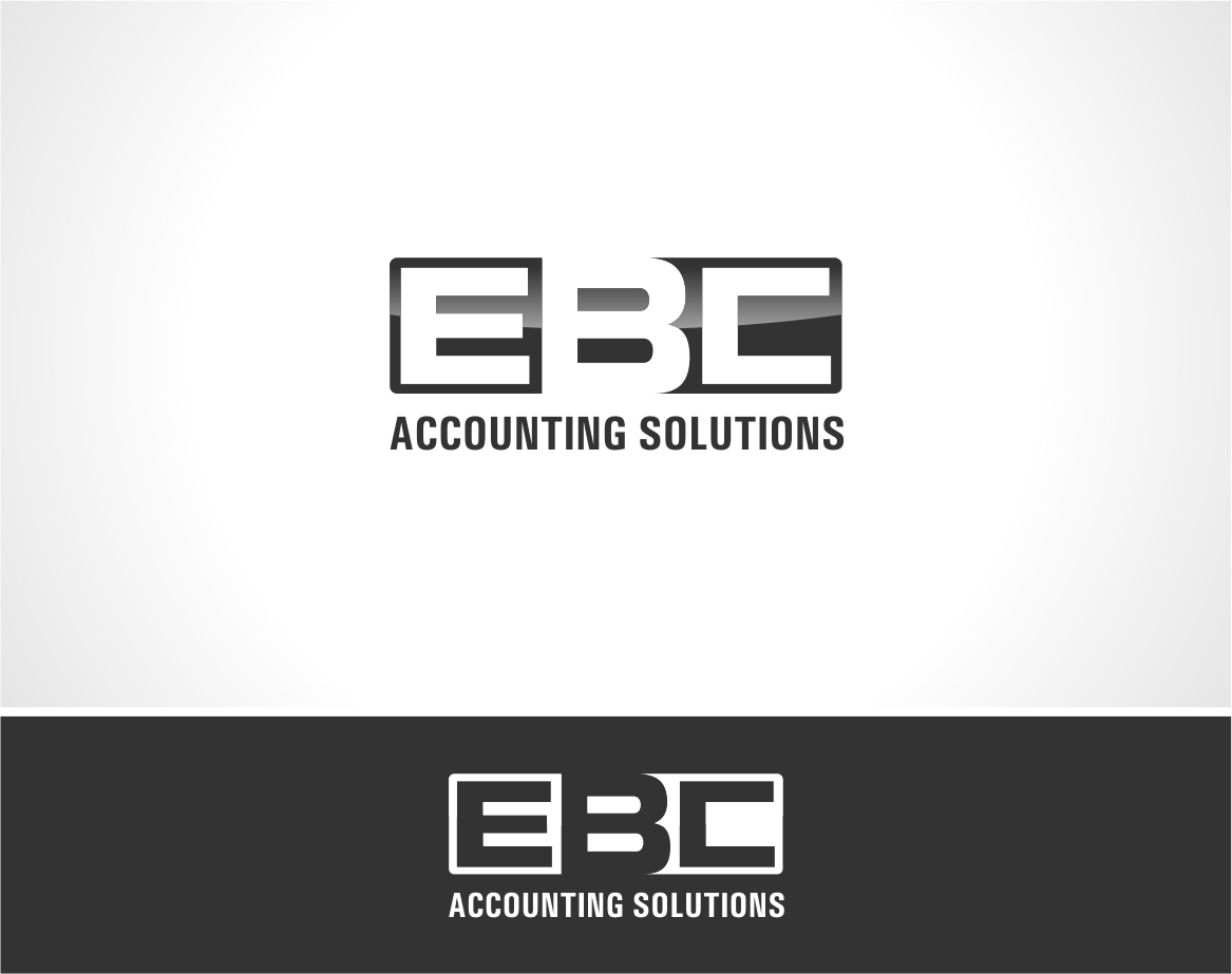 Logo Design by haidu - Entry No. 96 in the Logo Design Contest New Logo Design for EBC Accounting Solutions.