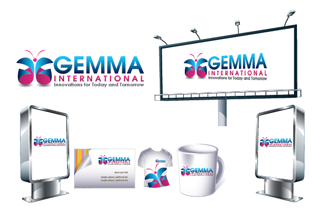 Logo Design by Private User - Entry No. 93 in the Logo Design Contest Artistic Logo Design for Gemma International.