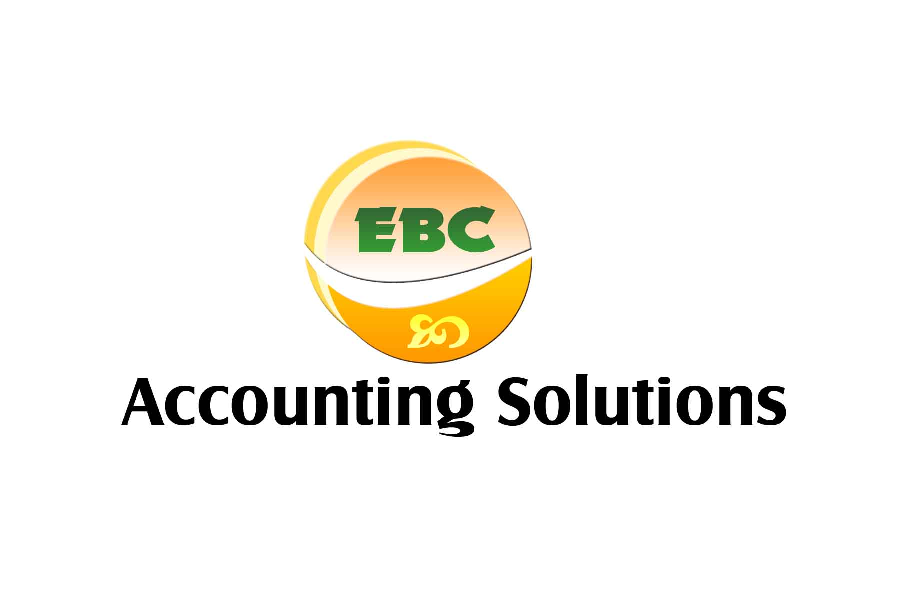 Logo Design by Jastinejay Manliguez - Entry No. 104 in the Logo Design Contest New Logo Design for EBC Accounting Solutions.