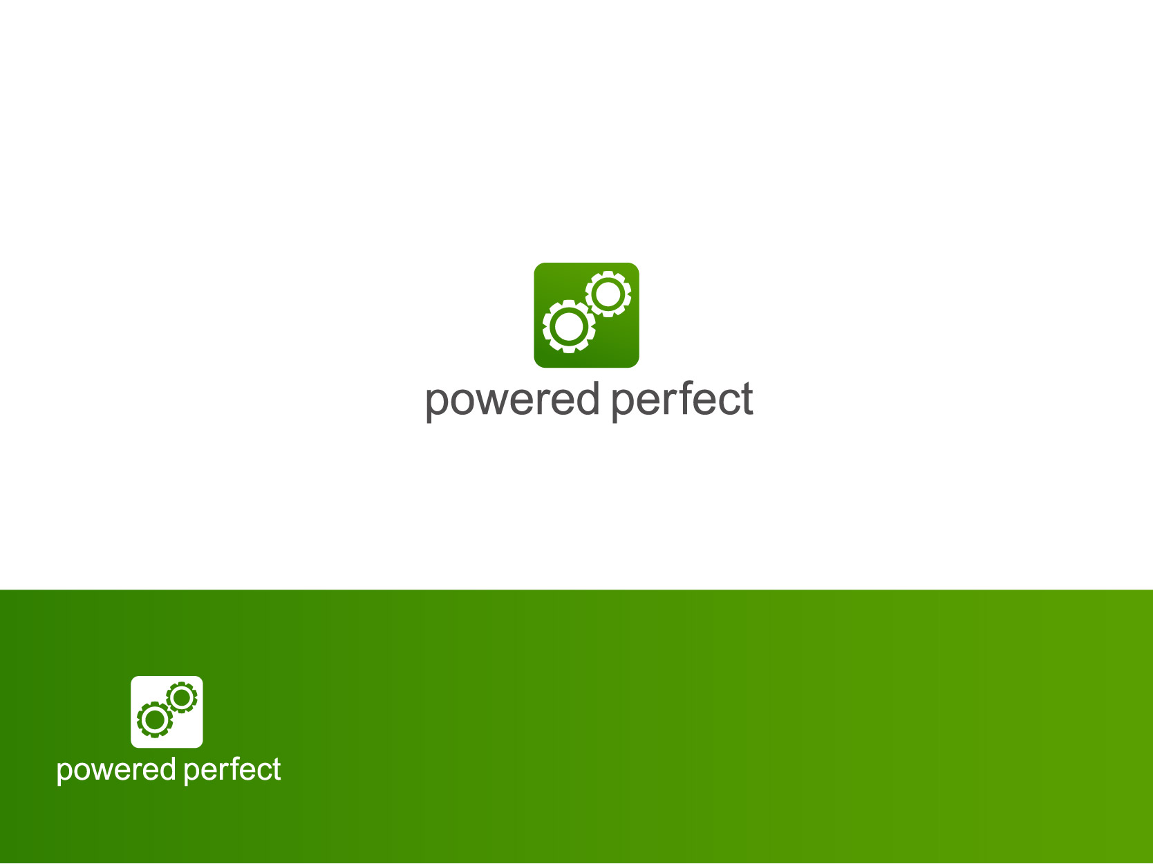 Logo Design by Osi Indra - Entry No. 3 in the Logo Design Contest Captivating Logo Design for Powered Perfect.