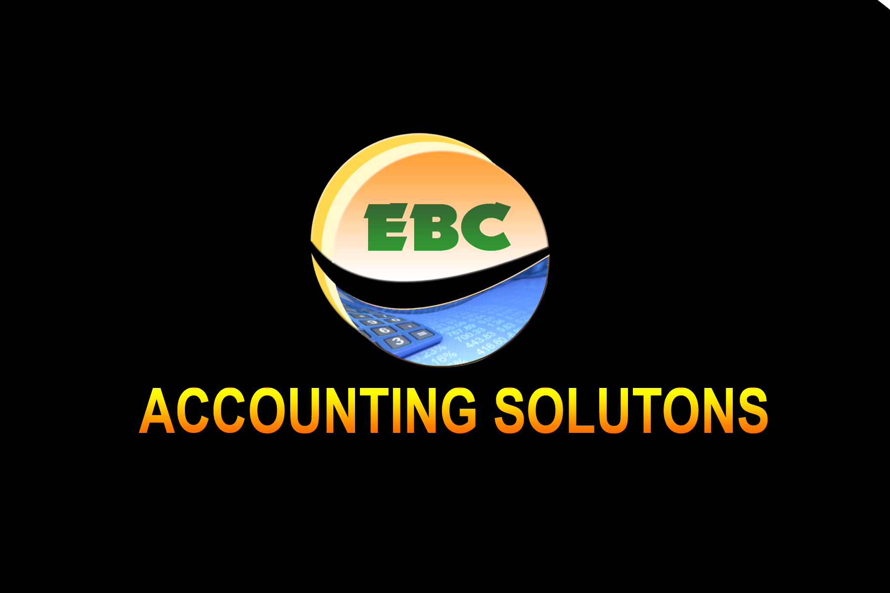 Logo Design by Jastinejay Manliguez - Entry No. 106 in the Logo Design Contest New Logo Design for EBC Accounting Solutions.