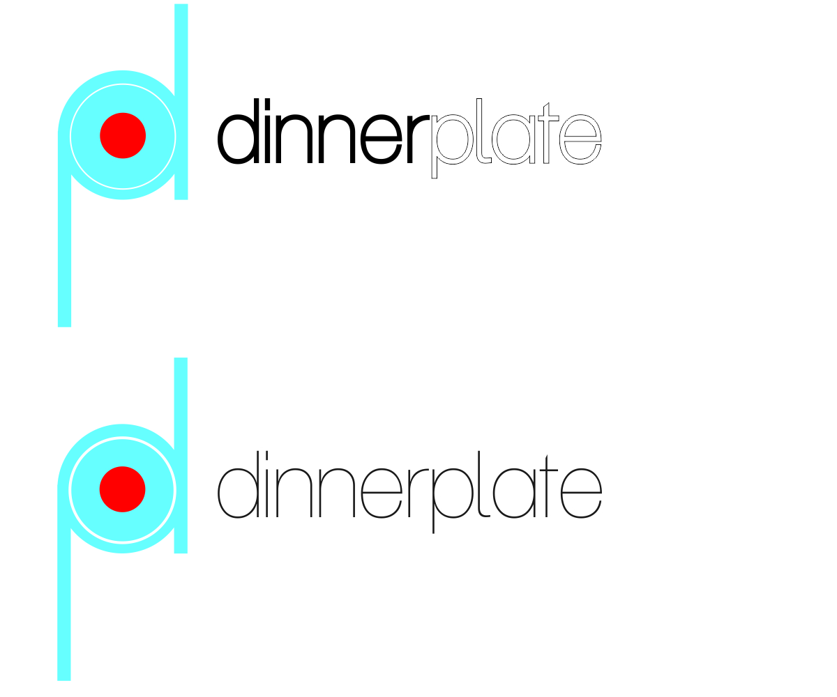 Logo Design by franz - Entry No. 85 in the Logo Design Contest Imaginative Logo Design for Dinner Plate.
