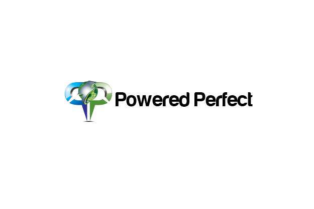 Logo Design by Private User - Entry No. 4 in the Logo Design Contest Captivating Logo Design for Powered Perfect.