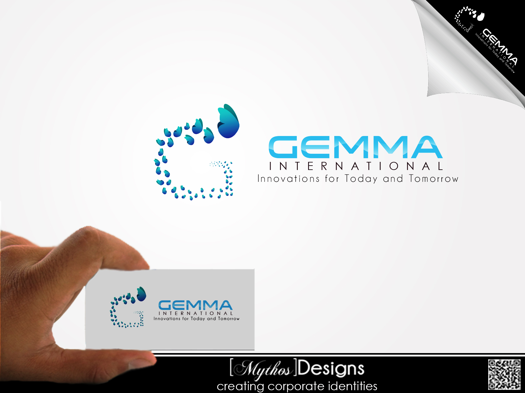 Logo Design by Mythos Designs - Entry No. 95 in the Logo Design Contest Artistic Logo Design for Gemma International.