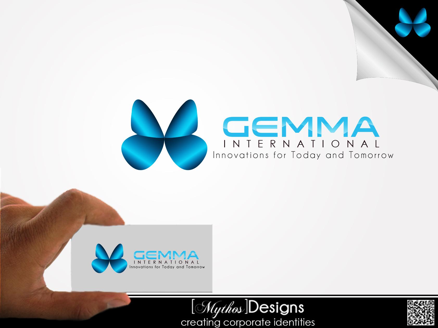 Logo Design by Mythos Designs - Entry No. 96 in the Logo Design Contest Artistic Logo Design for Gemma International.