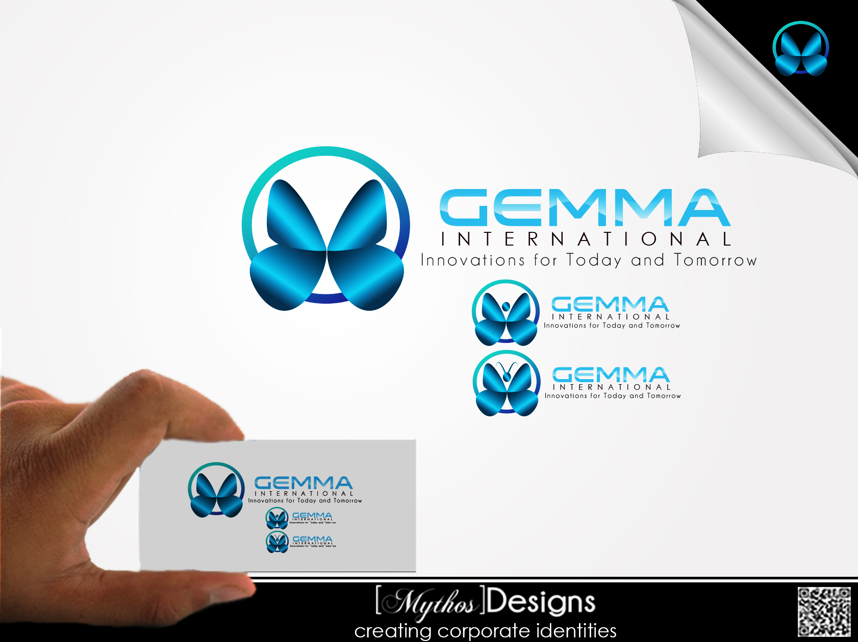 Logo Design by Mythos Designs - Entry No. 97 in the Logo Design Contest Artistic Logo Design for Gemma International.