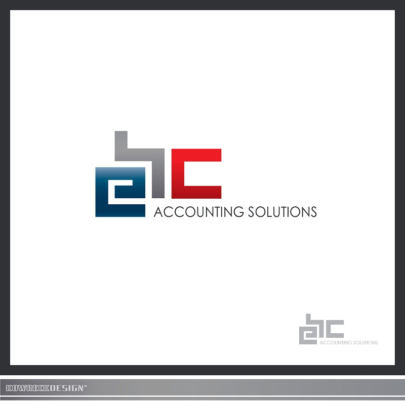 Logo Design by kowreck - Entry No. 112 in the Logo Design Contest New Logo Design for EBC Accounting Solutions.