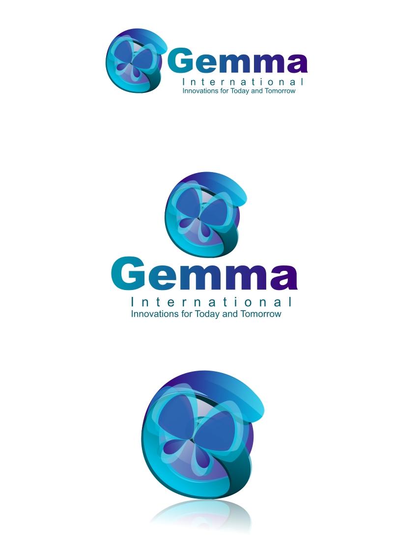 Logo Design by Private User - Entry No. 100 in the Logo Design Contest Artistic Logo Design for Gemma International.