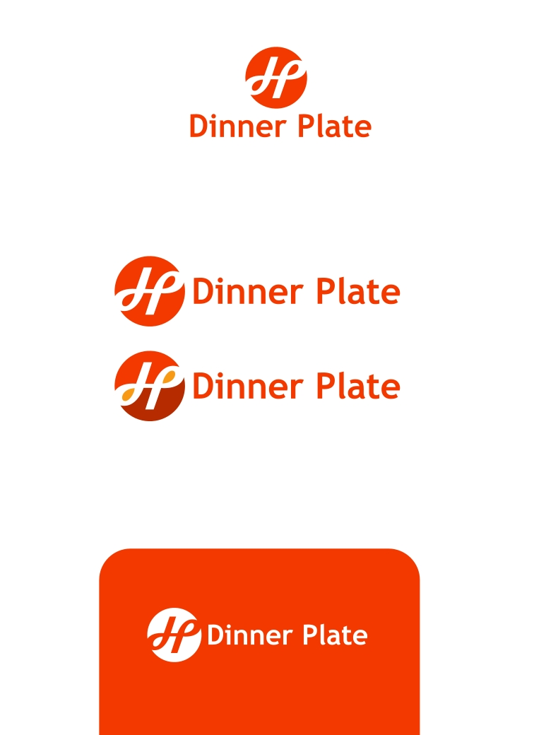 Logo Design by Private User - Entry No. 87 in the Logo Design Contest Imaginative Logo Design for Dinner Plate.