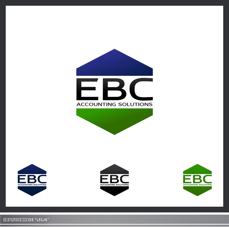 Logo Design by kowreck - Entry No. 116 in the Logo Design Contest New Logo Design for EBC Accounting Solutions.