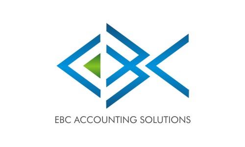 Logo Design by Keshav Karotra - Entry No. 118 in the Logo Design Contest New Logo Design for EBC Accounting Solutions.