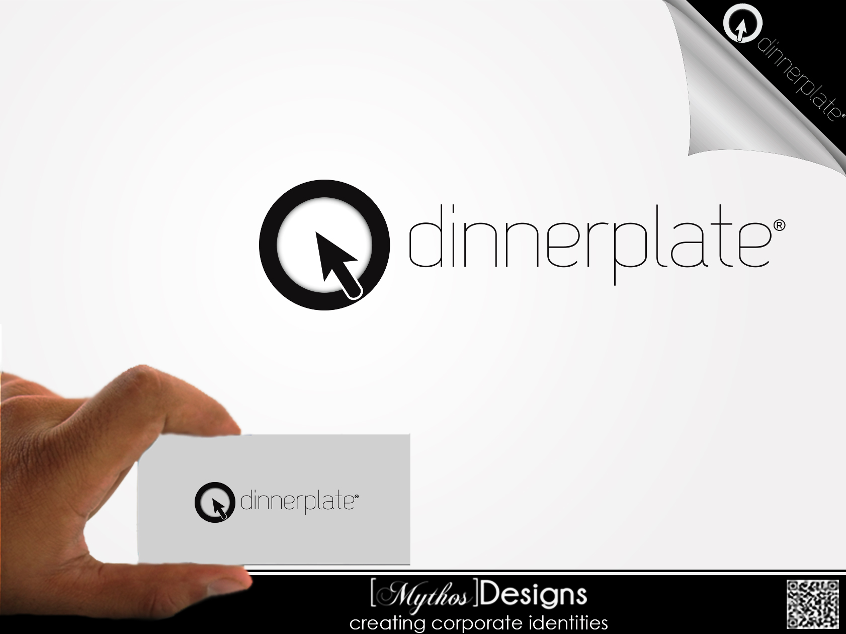 Logo Design by Mythos Designs - Entry No. 88 in the Logo Design Contest Imaginative Logo Design for Dinner Plate.