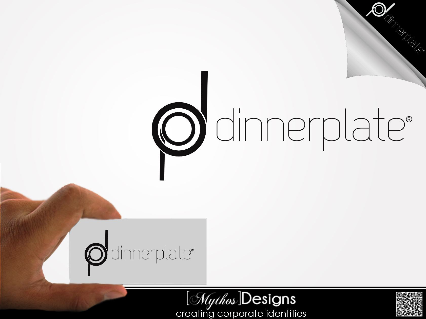 Logo Design by Mythos Designs - Entry No. 89 in the Logo Design Contest Imaginative Logo Design for Dinner Plate.