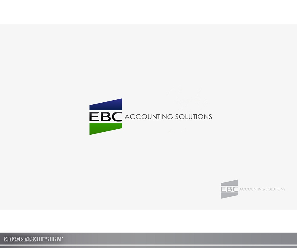 Logo Design by kowreck - Entry No. 124 in the Logo Design Contest New Logo Design for EBC Accounting Solutions.