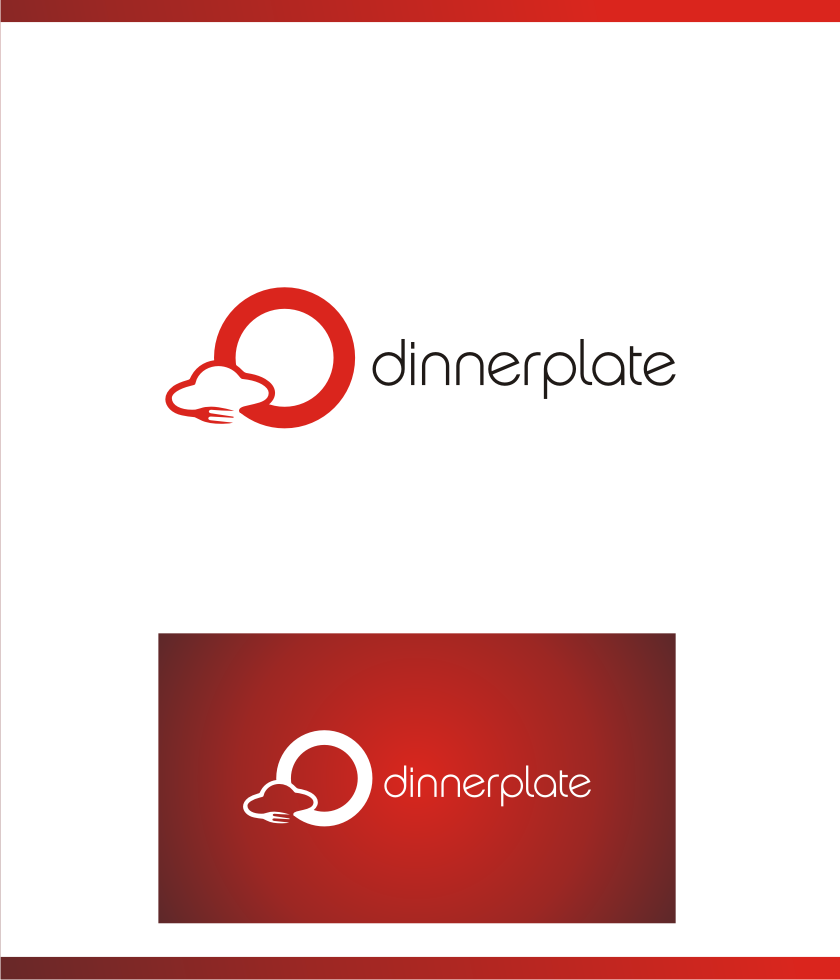 Logo Design by Muhammad Nasrul chasib - Entry No. 90 in the Logo Design Contest Imaginative Logo Design for Dinner Plate.