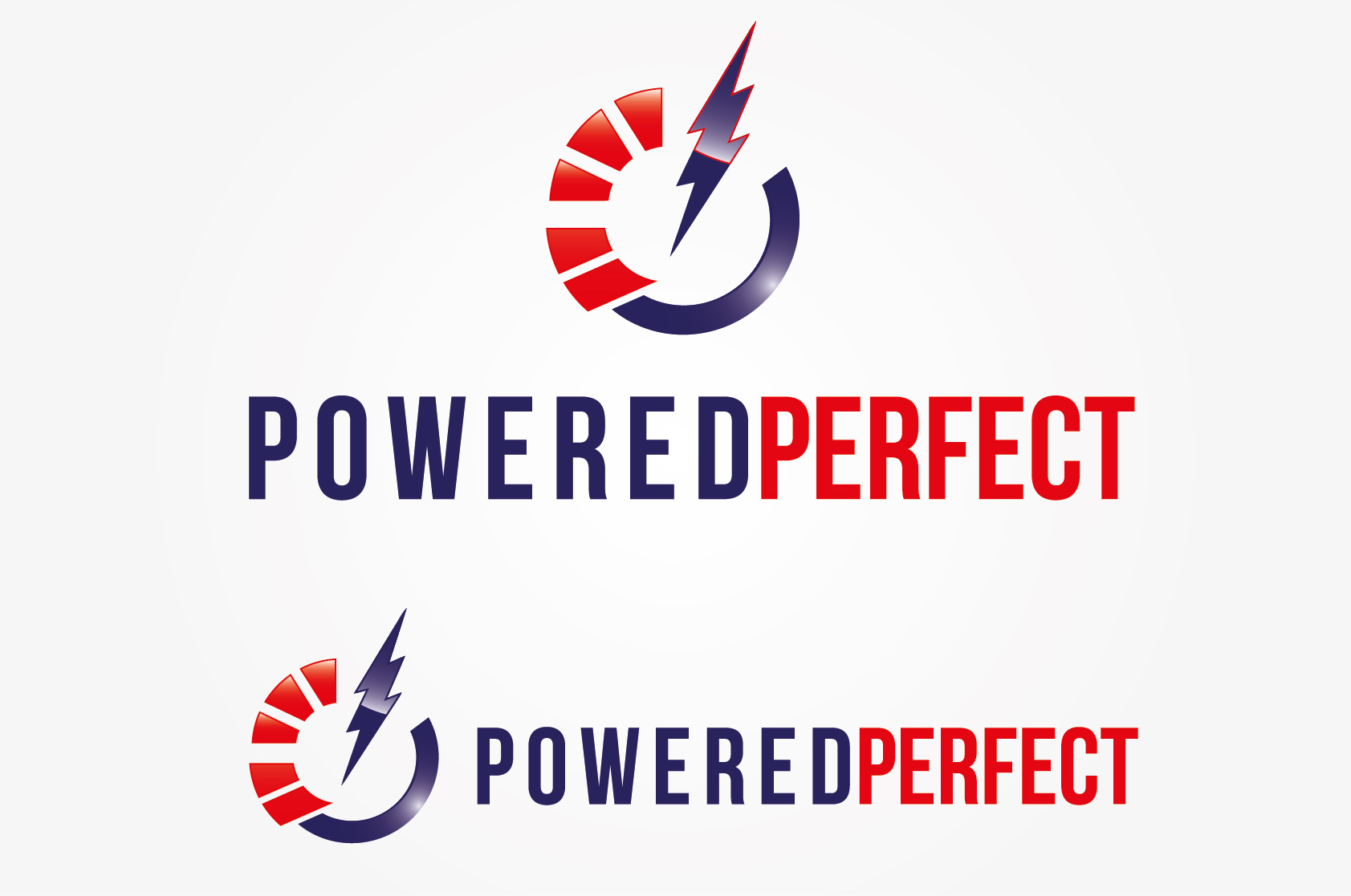 Logo Design by VENTSISLAV KOVACHEV - Entry No. 8 in the Logo Design Contest Captivating Logo Design for Powered Perfect.