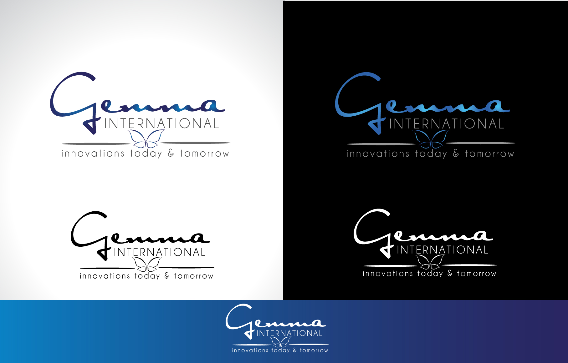 Logo Design by Darina Dimitrova - Entry No. 106 in the Logo Design Contest Artistic Logo Design for Gemma International.