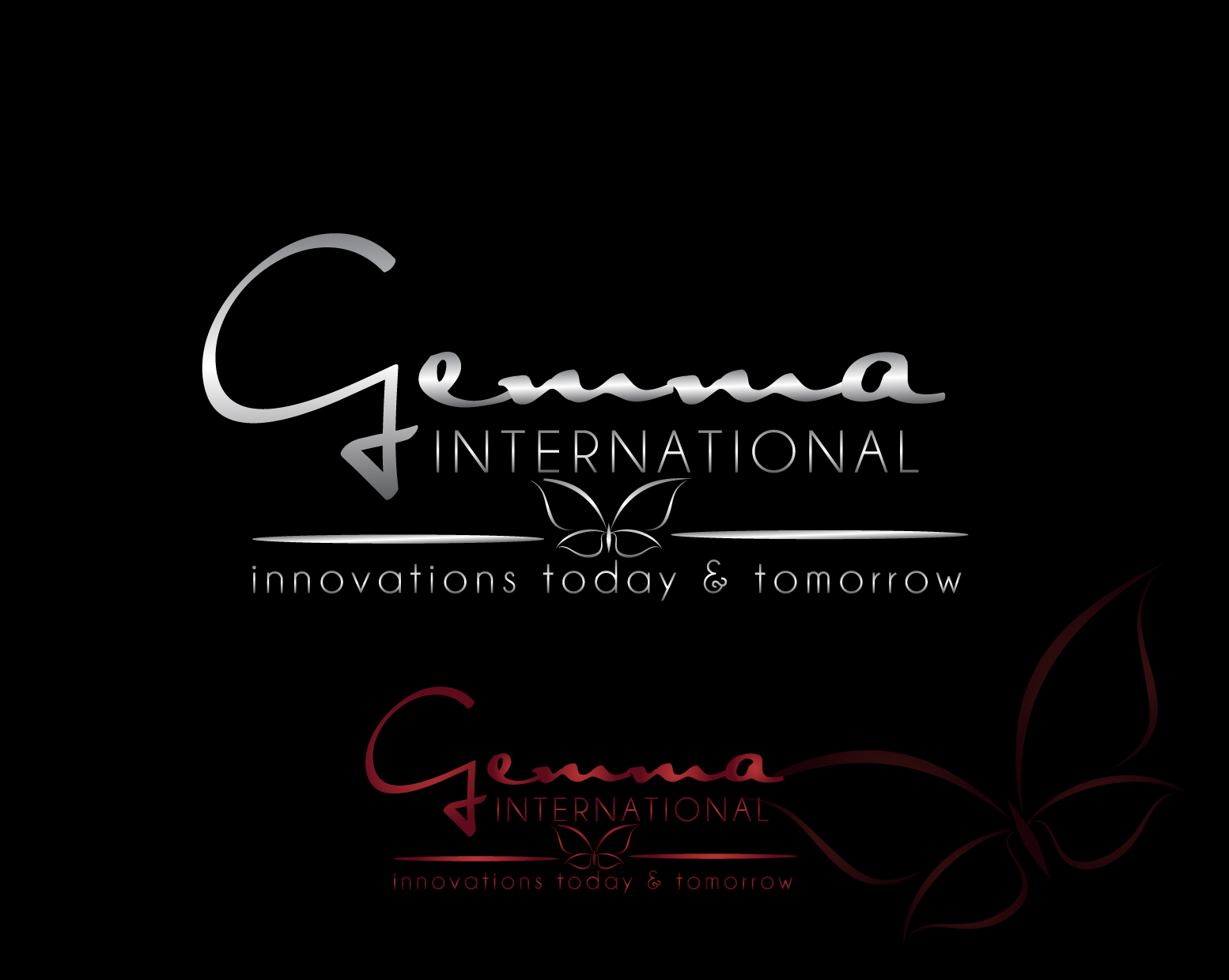 Logo Design by Darina Dimitrova - Entry No. 112 in the Logo Design Contest Artistic Logo Design for Gemma International.