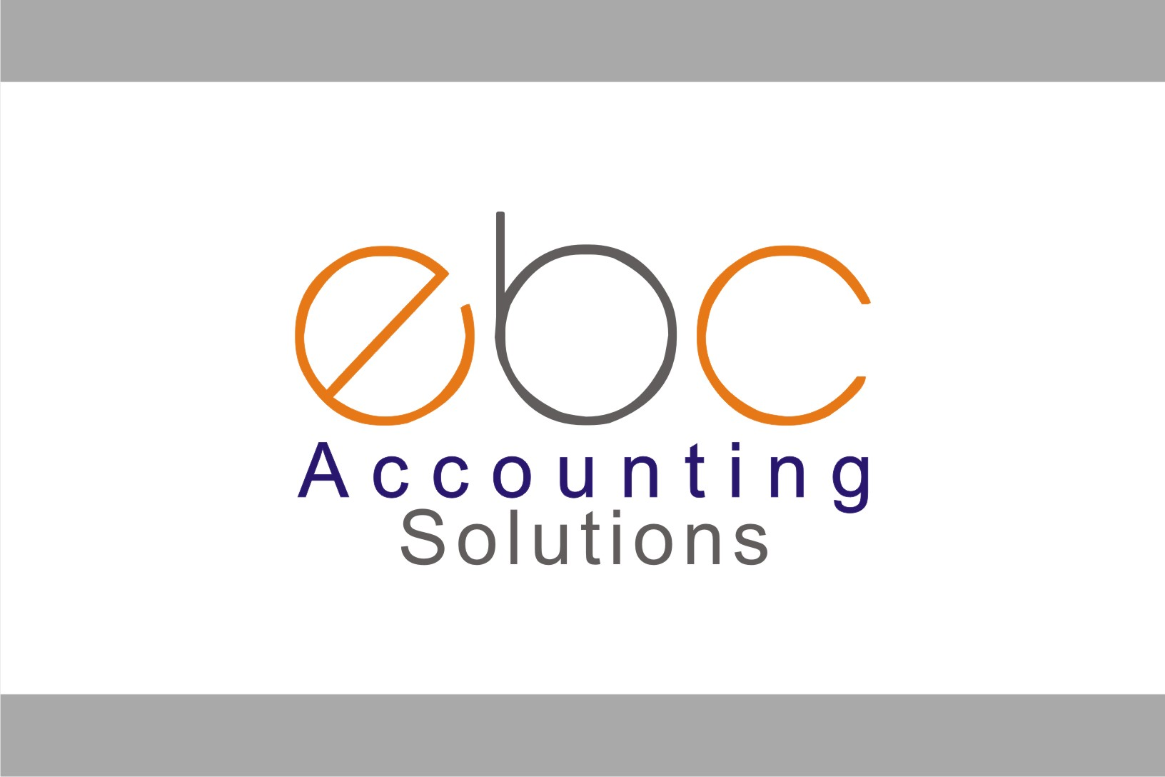 Logo Design by Shailender Kumar - Entry No. 127 in the Logo Design Contest New Logo Design for EBC Accounting Solutions.