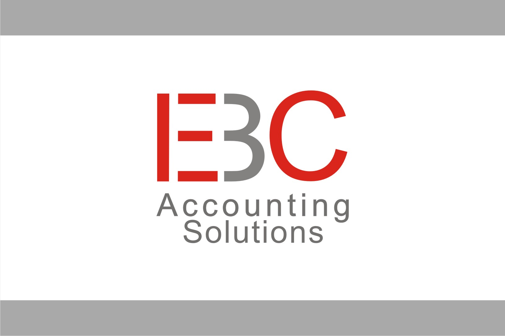 Logo Design by Shailender Kumar - Entry No. 128 in the Logo Design Contest New Logo Design for EBC Accounting Solutions.