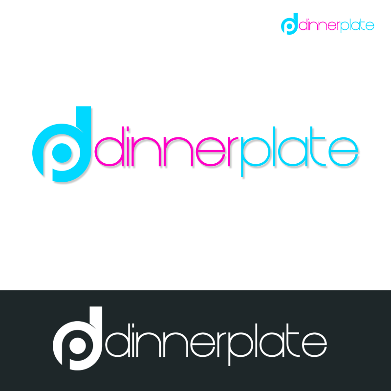 Logo Design by Private User - Entry No. 95 in the Logo Design Contest Imaginative Logo Design for Dinner Plate.