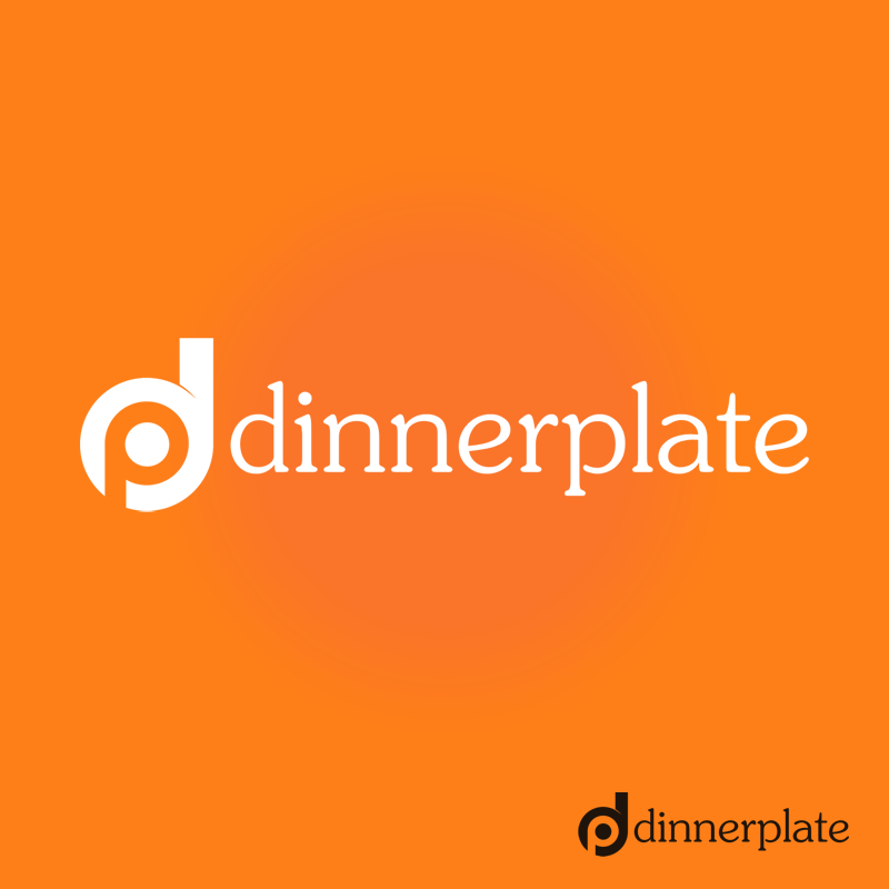 Logo Design by Robert Turla - Entry No. 96 in the Logo Design Contest Imaginative Logo Design for Dinner Plate.