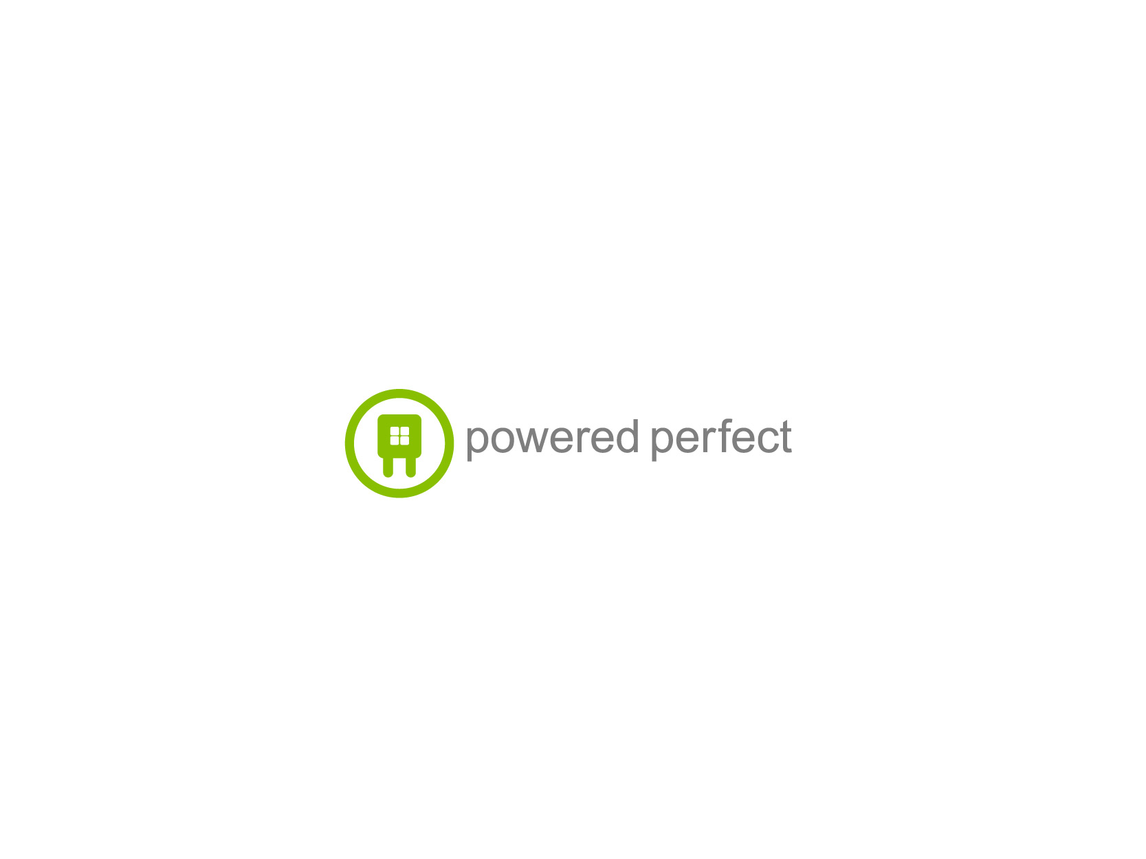 Logo Design by Osi Indra - Entry No. 9 in the Logo Design Contest Captivating Logo Design for Powered Perfect.
