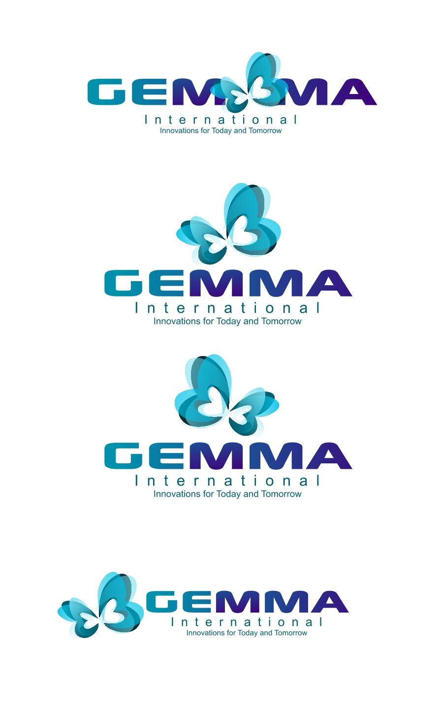 Logo Design by Private User - Entry No. 115 in the Logo Design Contest Artistic Logo Design for Gemma International.