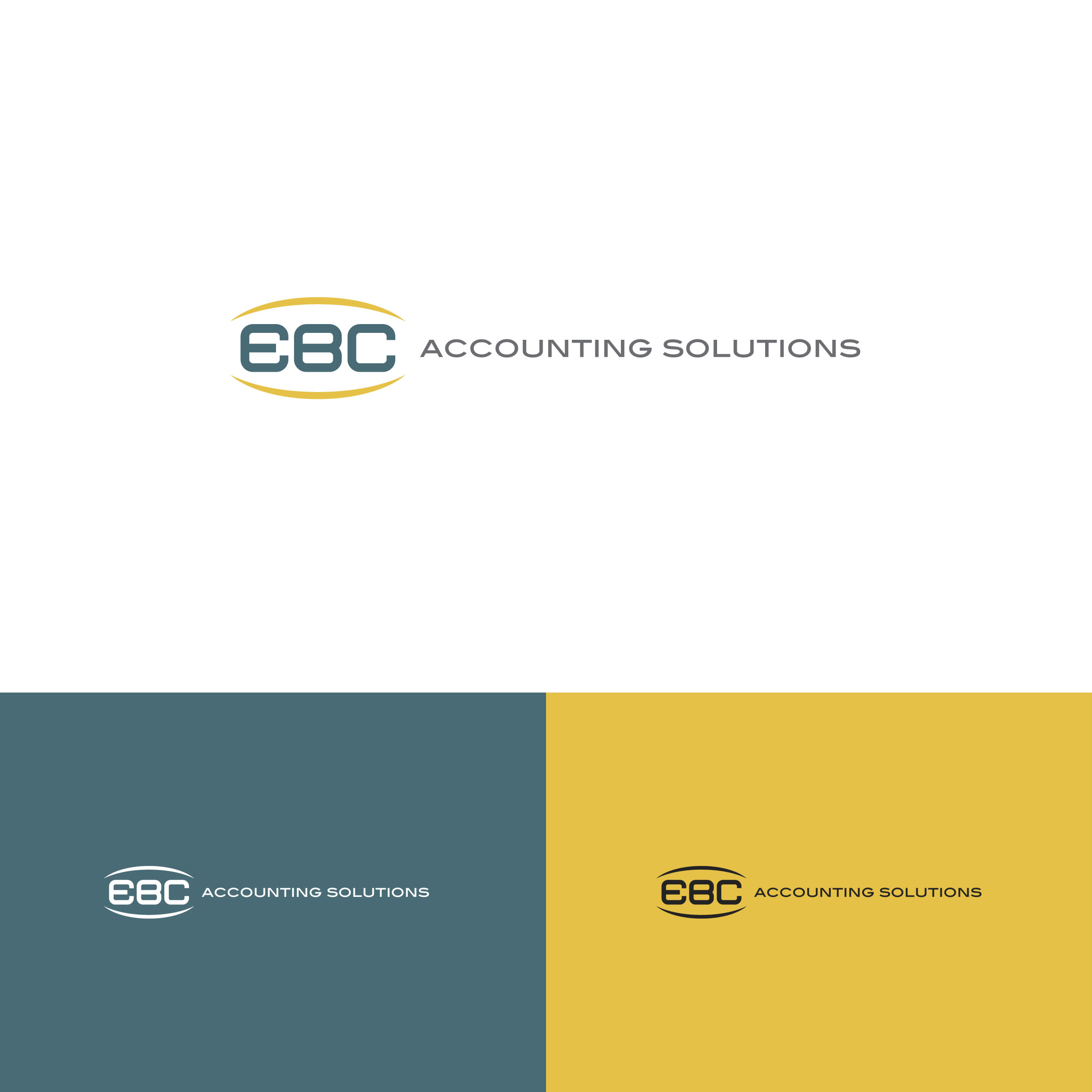 Logo Design by tanganpanas - Entry No. 129 in the Logo Design Contest New Logo Design for EBC Accounting Solutions.