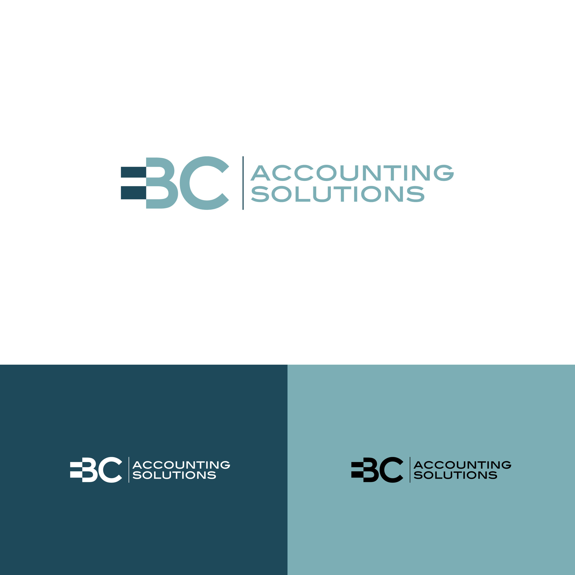 Logo Design by tanganpanas - Entry No. 130 in the Logo Design Contest New Logo Design for EBC Accounting Solutions.