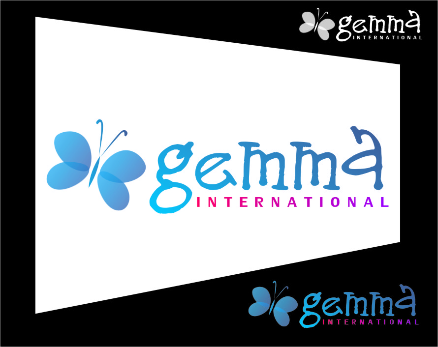 Logo Design by RoSyid Rono-Rene On Java - Entry No. 117 in the Logo Design Contest Artistic Logo Design for Gemma International.