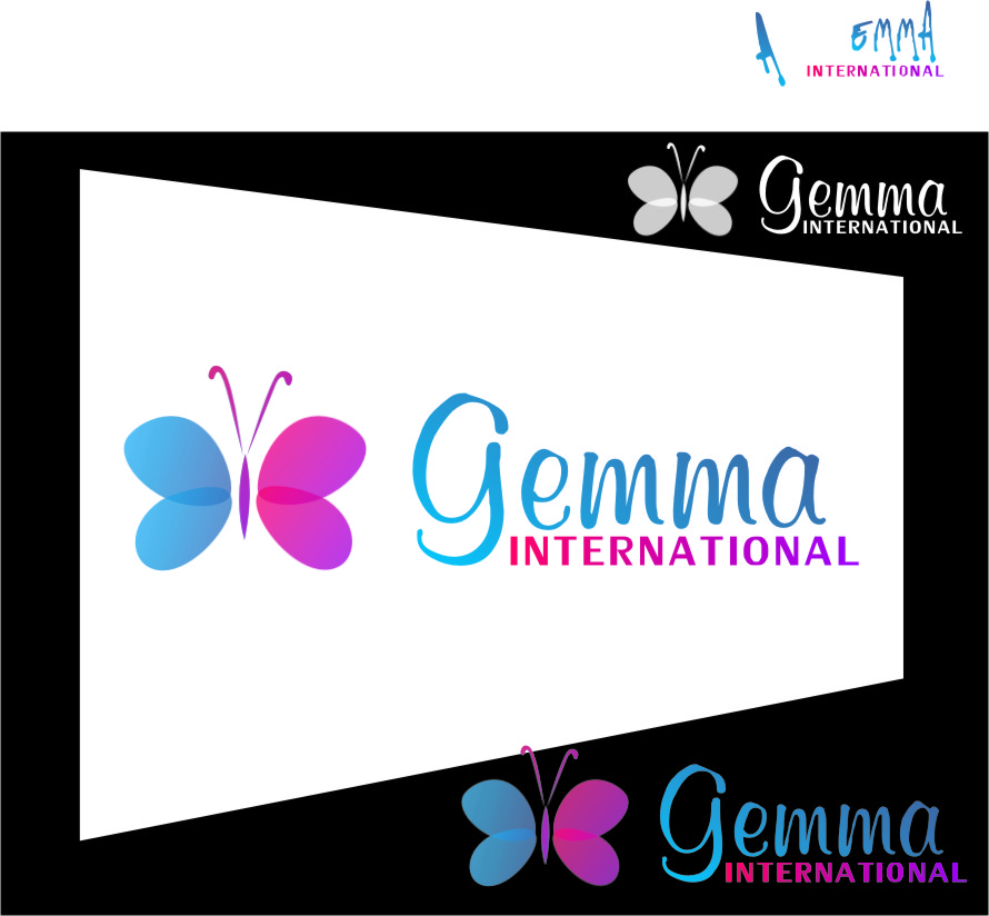 Logo Design by RasYa Muhammad Athaya - Entry No. 119 in the Logo Design Contest Artistic Logo Design for Gemma International.