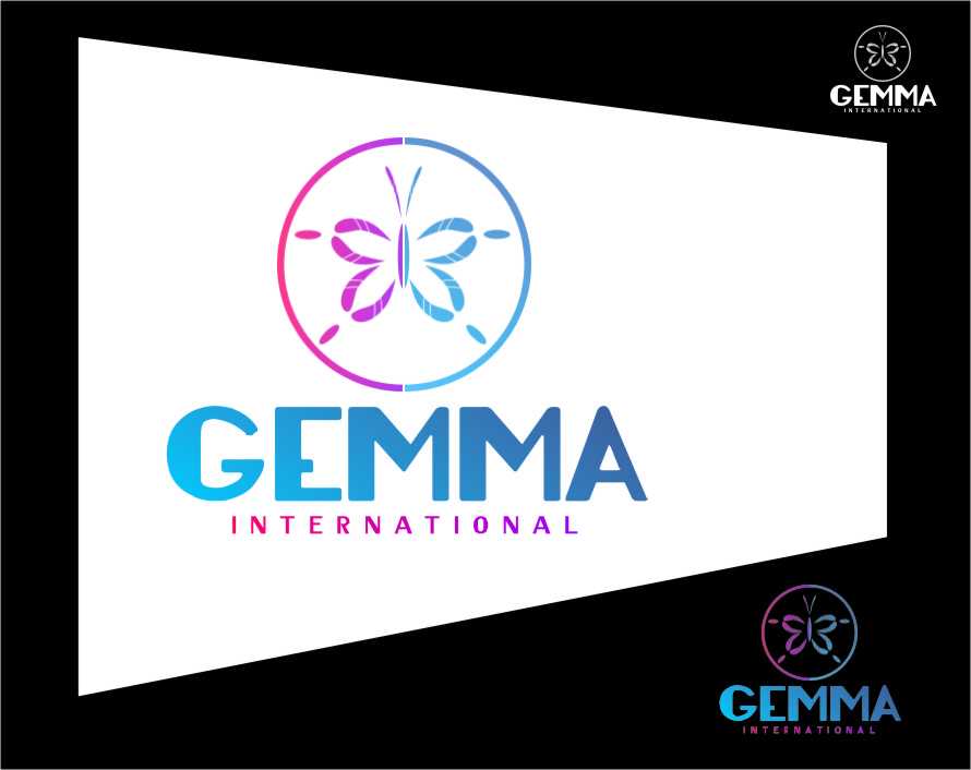 Logo Design by RoSyid Rono-Rene On Java - Entry No. 122 in the Logo Design Contest Artistic Logo Design for Gemma International.