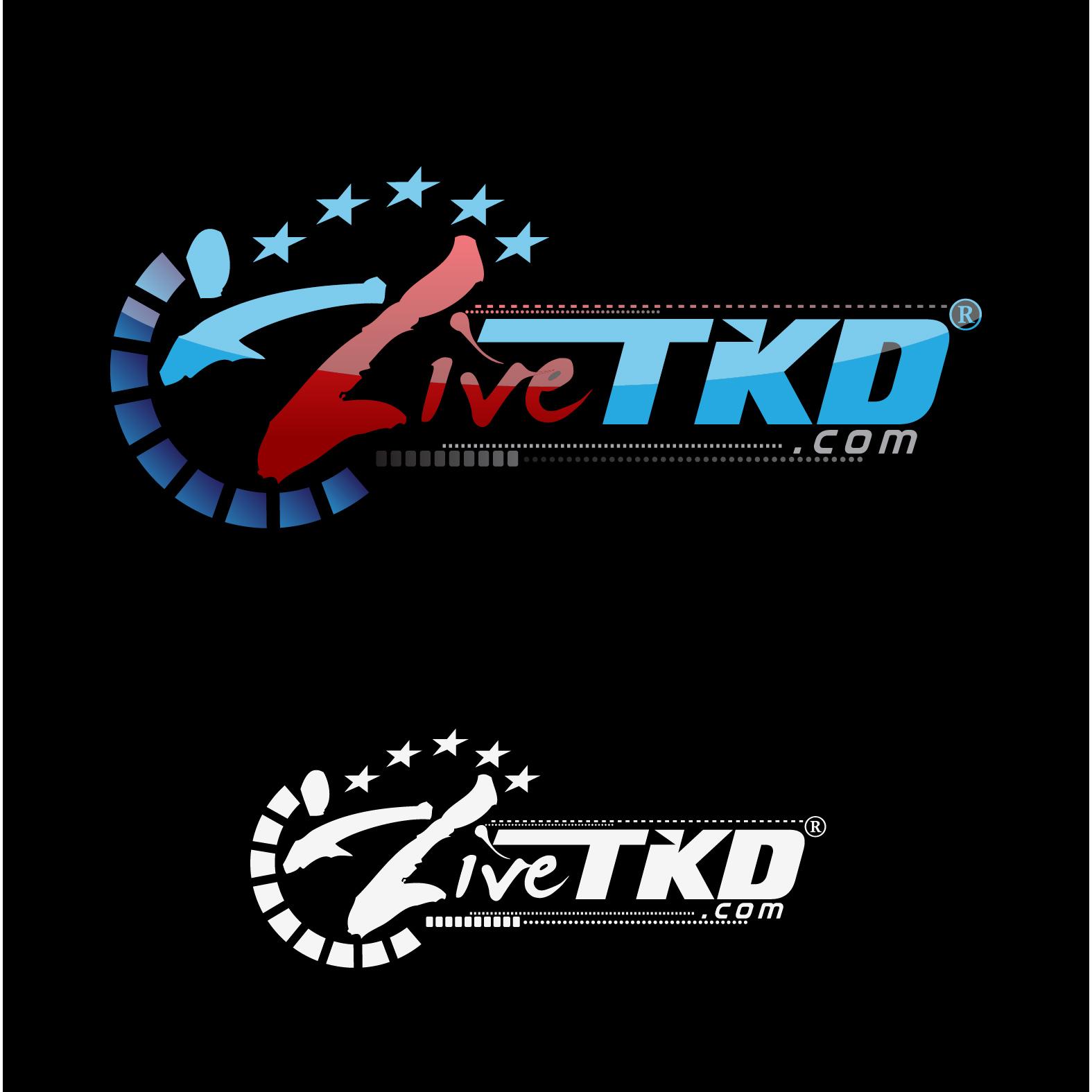 Logo Design by lagalag - Entry No. 109 in the Logo Design Contest New Logo Design for LiveTKD.com.