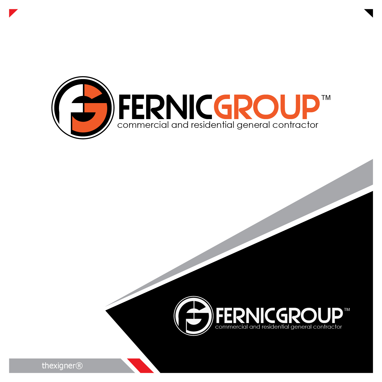 Logo Design by lagalag - Entry No. 46 in the Logo Design Contest Artistic Logo Design for Fernic Goup.
