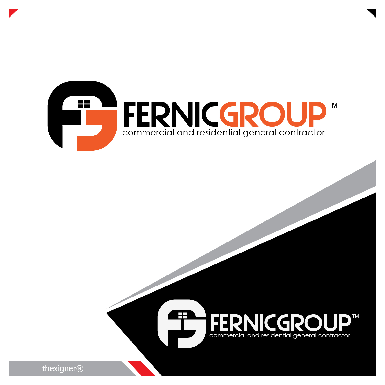 Logo Design by lagalag - Entry No. 47 in the Logo Design Contest Artistic Logo Design for Fernic Goup.