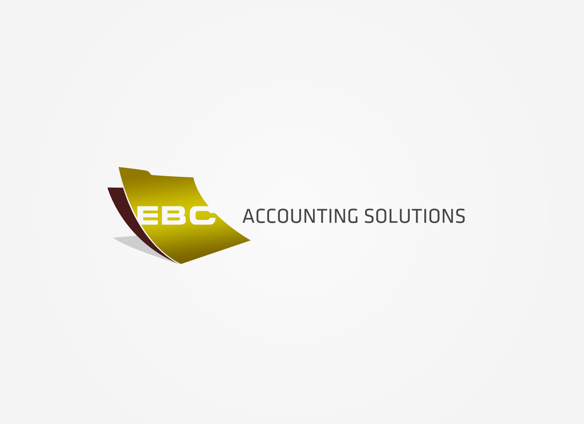 Logo Design by omARTist - Entry No. 135 in the Logo Design Contest New Logo Design for EBC Accounting Solutions.