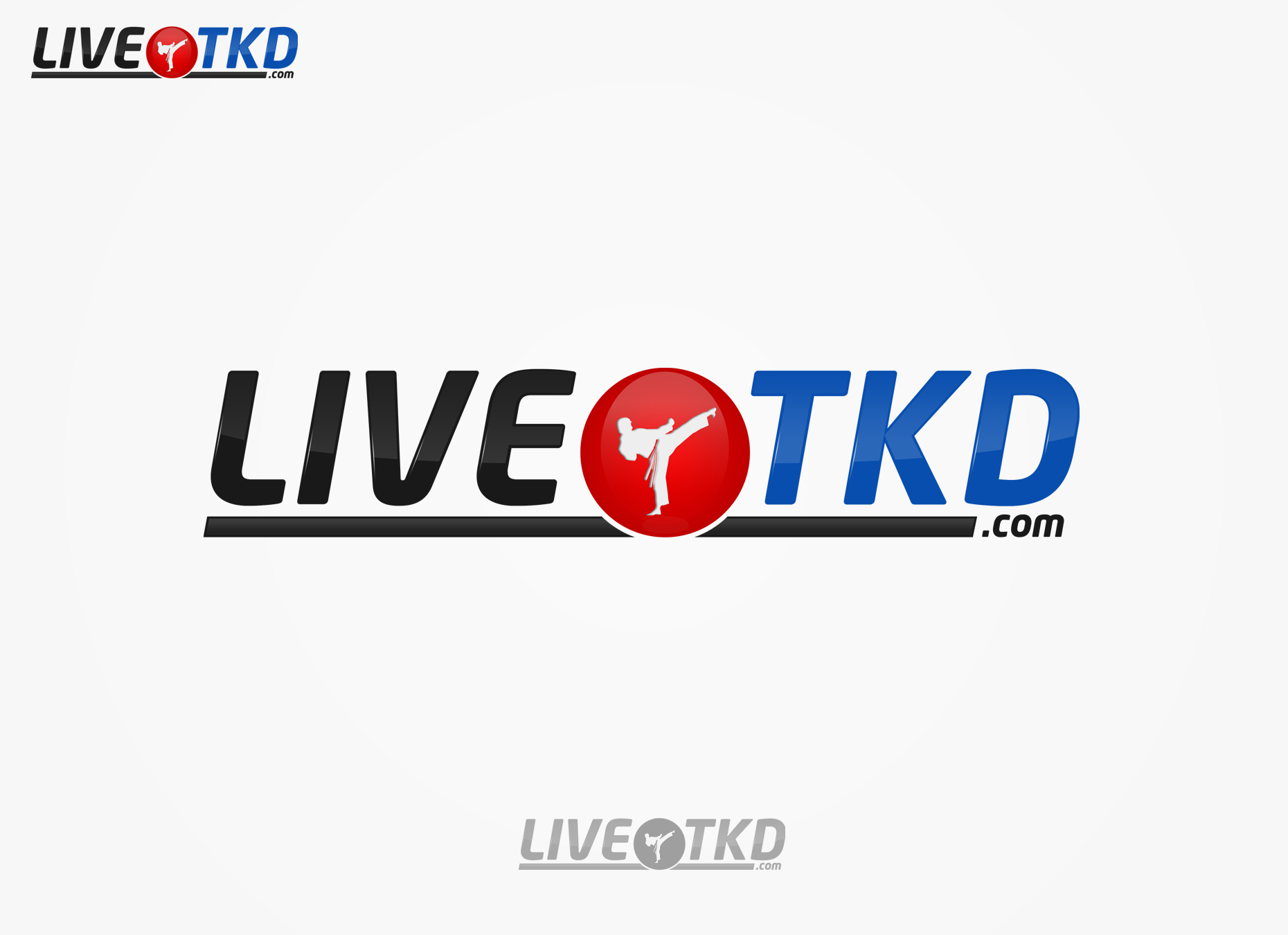 Logo Design by omARTist - Entry No. 111 in the Logo Design Contest New Logo Design for LiveTKD.com.