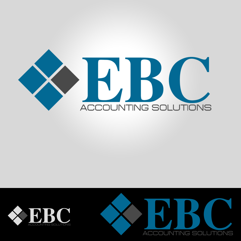 Logo Design by Robert Turla - Entry No. 136 in the Logo Design Contest New Logo Design for EBC Accounting Solutions.