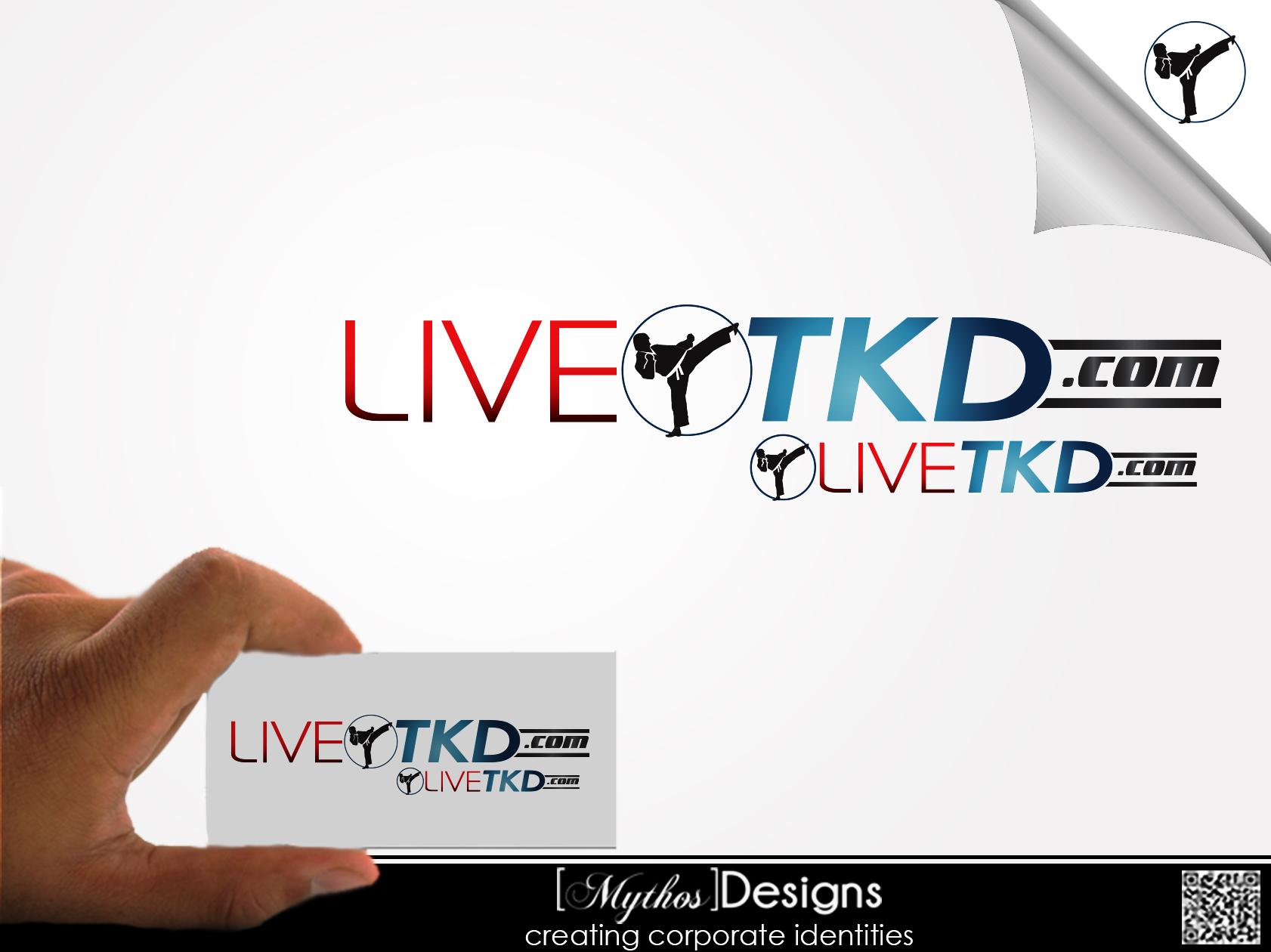 Logo Design by Mythos Designs - Entry No. 117 in the Logo Design Contest New Logo Design for LiveTKD.com.