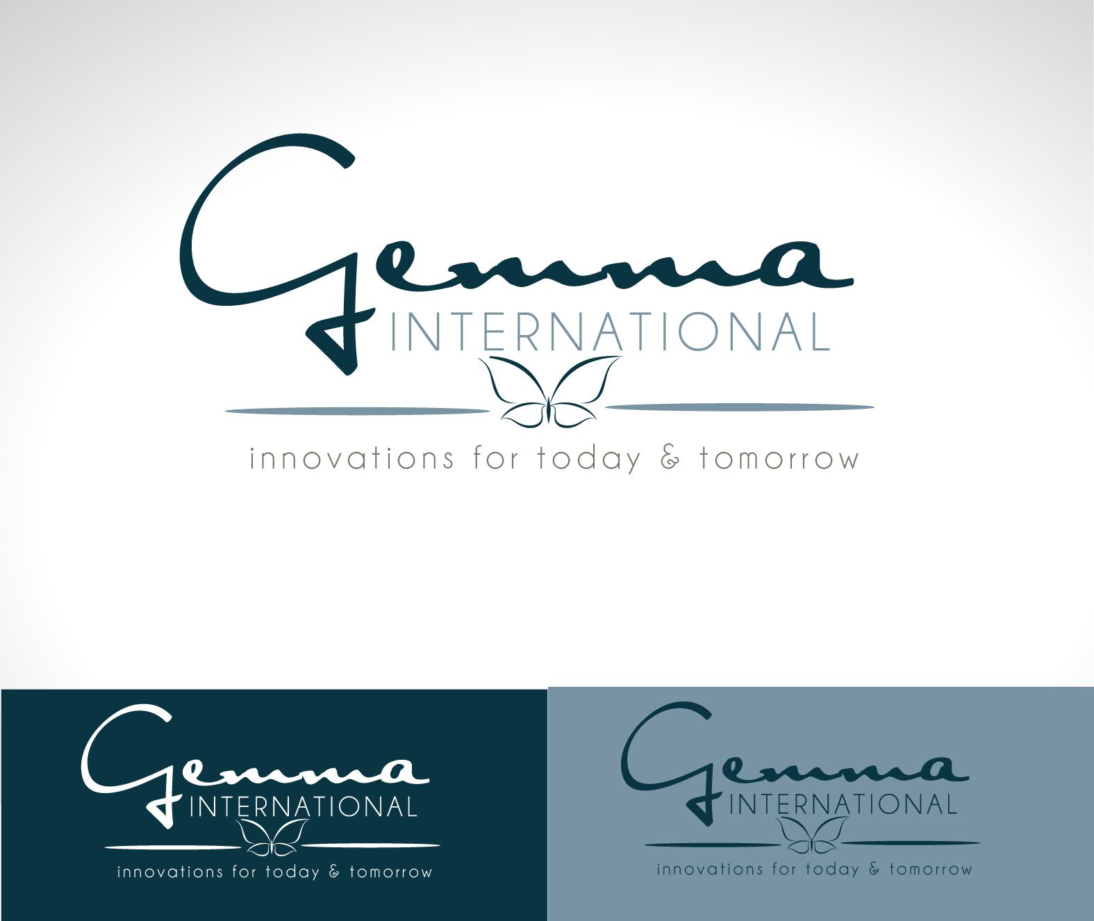 Logo Design by Darina Dimitrova - Entry No. 130 in the Logo Design Contest Artistic Logo Design for Gemma International.